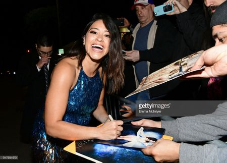 Gina Rodriguez autographed Deepwater Horizon 13x20 inch mini movie poster