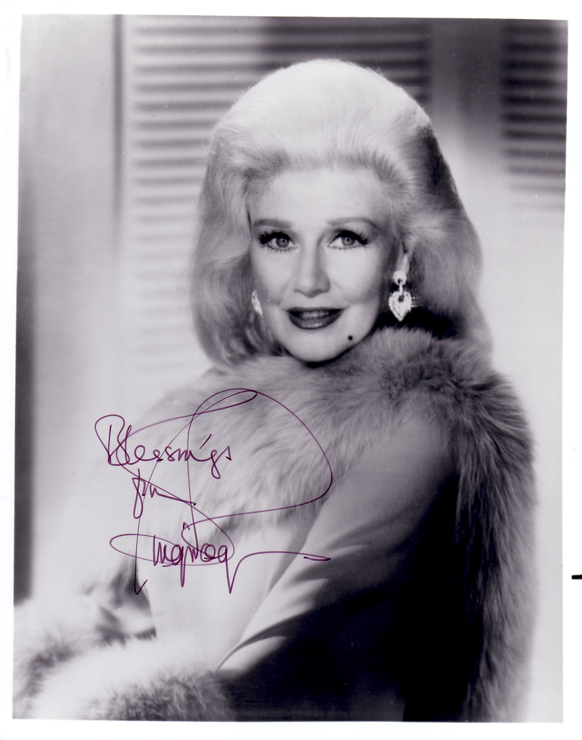 Ginger Rogers Autographed 8x10 Black And White Photo Actress Autographs