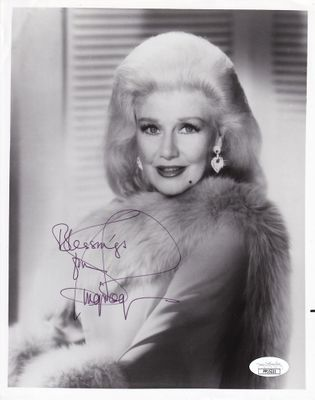 Ginger Rogers autographed 8x10 black and white photo (JSA)