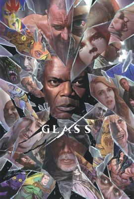 Glass 2018 San Diego Comic-Con Alex Ross artwork mini movie poster