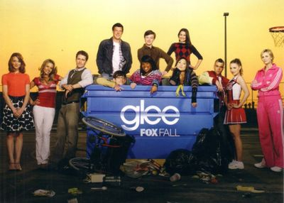 Glee 2009 Comic-Con Fox 5x7 promo cast photo card MINT