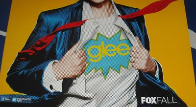 Glee 2012 Comic-Con mini 11x17 Fox promo poster