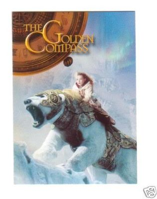 Golden Compass 2007 promo card GC-P1