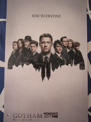 Gotham 2015 Comic-Con mini 11x17 FOX promo poster MINT
