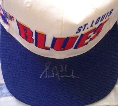 Grant Fuhr autographed St. Louis Blues cap or hat