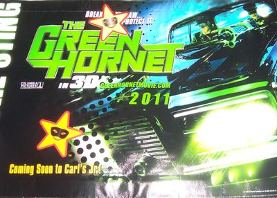Green Hornet in 3D movie 2010 Comic-Con promo bag