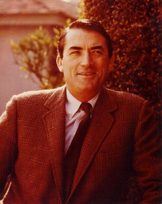 Gregory Peck vintage 8x10 portrait photo