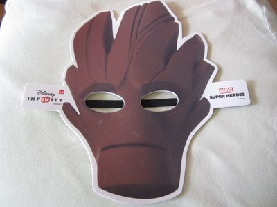 Groot Marvel Super Heroes Disney Infinity 2.0 2014 Comic-Con promo mask