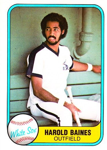 Harold Baines 1981 Fleer Rookie Card #346