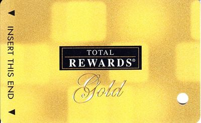 Harrah's Total Rewards Gold 2009 casino card