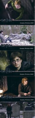 Harry Potter and the Deathly Hallows 5 promo card set MINT RARE