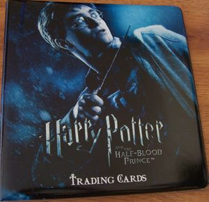 Harry Potter and the Half-Blood Prince 2009 Comic-Con EXCLUSIVE padded album or binder