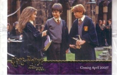 Harry Potter and the Sorcerer's Stone album or binder promo card 03