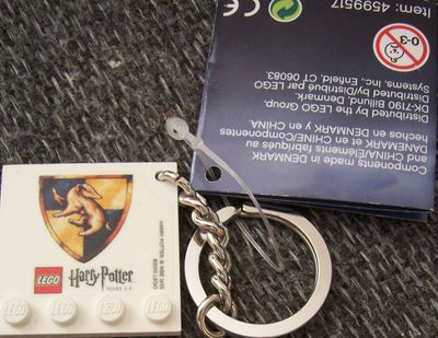 Harry Potter LEGO 2010 Comic-Con promo keychain