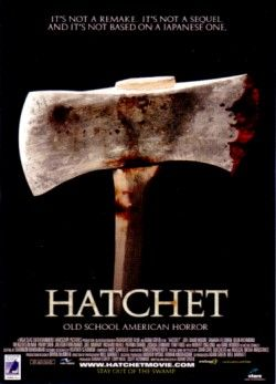 Hatchet movie 2007 promo card (Mercedes McNab)