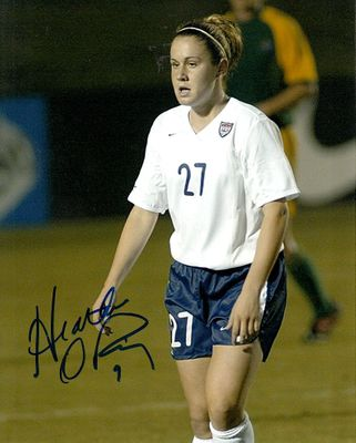 Heather O'Reilly autographed U.S. Soccer Team 8x10 photo