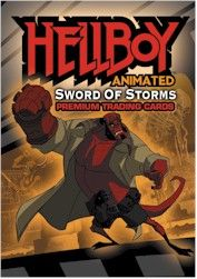 Hellboy Animated 2006 Comic-Con promo card HA-SD2006