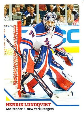 Henrik Lundqvist New York Rangers 2008 Sports Illustrated for Kids card #254