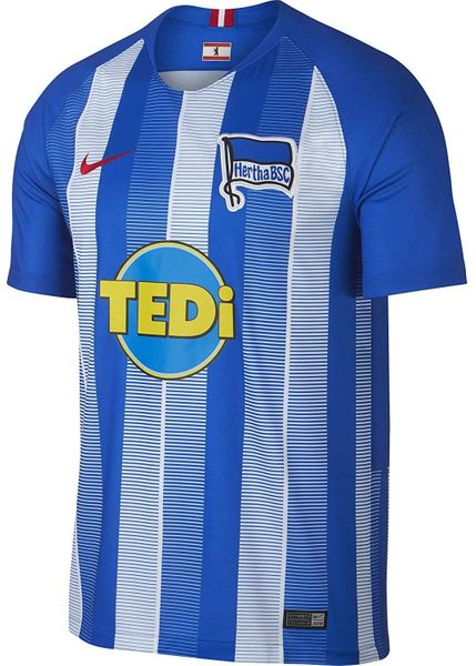 Hertha BSC Berlin Germany authentic Nike 2018 2019 home blue jersey or kit NEW WITH TAGS