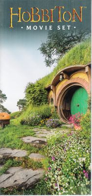 Hobbiton movie set New Zealand brochure (Lord of the Rings and The Hobbit trilogies)