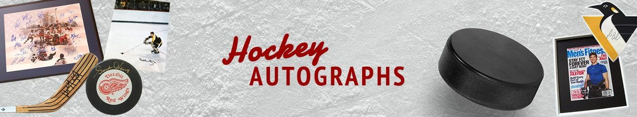 Hockey Autographs by Autographs for Sale