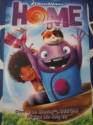 Home 2015 promo Dreamworks movie poster