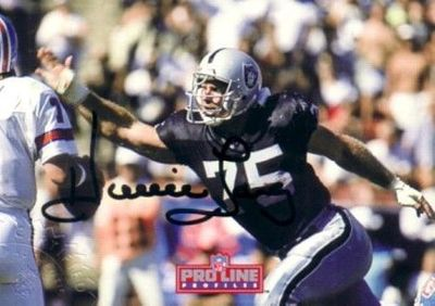 Howie Long certified autograph Raiders 1992 Pro Line Profiles card