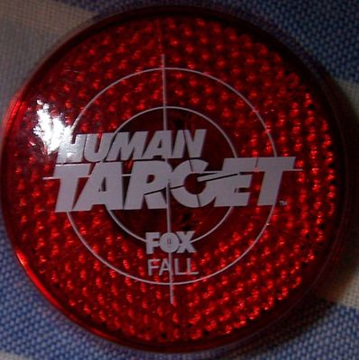 Human Target 2010 Comic-Con promo flashing bike light
