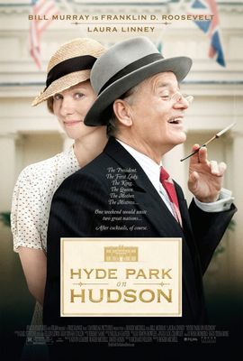 Hyde Park on Hudson mini movie poster (Bill Murray Laura Linney)