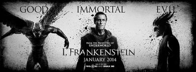 I, Frankenstein 2013 Comic-Con promo 20x40 inch movie poster