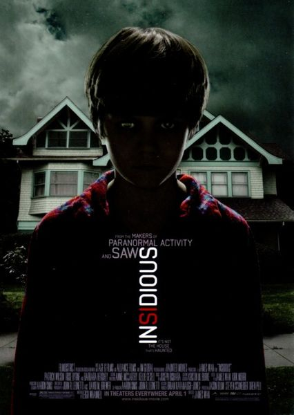 Insidious movie 5x7 inch promo card