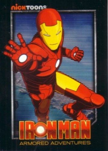 Iron Man Armored Adventures 2010 San Diego Comic-Con Nick Toons promo card