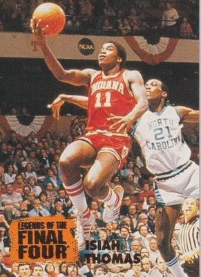 Isiah Thomas Indiana Hoosiers 1996 Classic Legends of the Final Four card