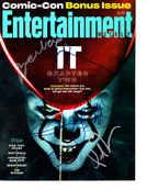It Chapter 2 cast autographed Entertainment Weekly 2019 Comic-Con magazine (Bill Hader James McAvoy)