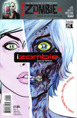 iZombie Special Edition 2015 DC comic book issue #1