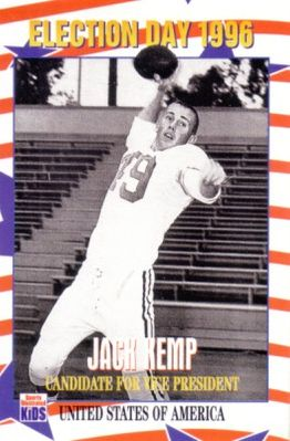 Jack Kemp 1996 Sports Illustrated for Kids card