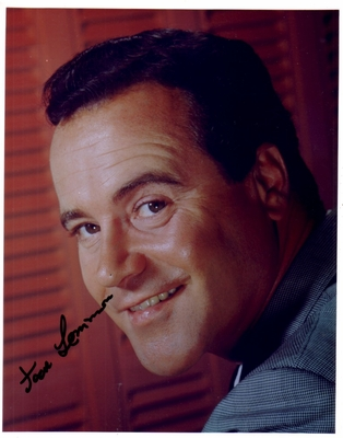 Jack Lemmon autographed 8x10 portrait photo
