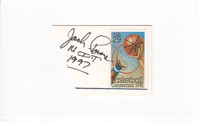 Jack Powers autograph or cut signature