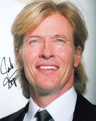 Jack Wagner autographed 8x10 portrait photo