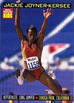 Jackie Joyner-Kersee 1999 Sports Illustrated for Kids card