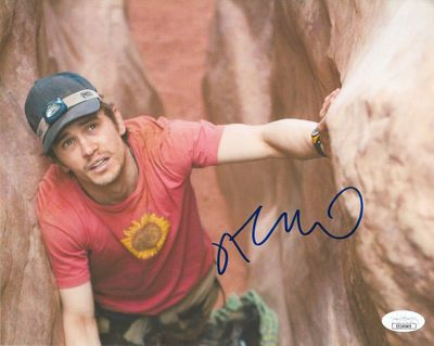 James Franco autographed 127 Hours 8x10 movie photo (JSA)