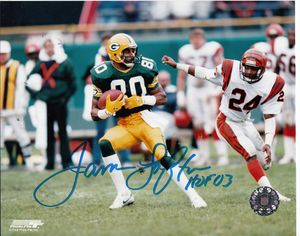 James Lofton autographed Green Bay Packers 8x10 photo