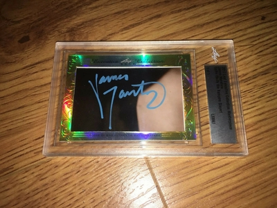 James Marsters 2017 Leaf Masterpiece Cut Signature certified autograph card 1/1 JSA Buffy