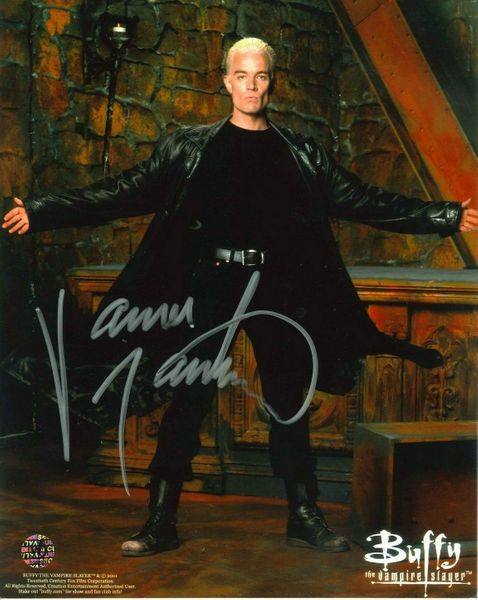 James Marsters autographed Buffy the Vampire Slayer 8x10 photo