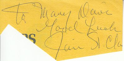 James St. Clair (President Nixon's Watergate attorney) autograph or cut signature