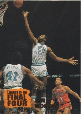 James Worthy North Carolina Tar Heels 1996 Classic Legends of the Final Four card