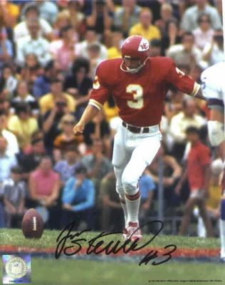 Jan Stenerud autographed Kansas City Chiefs 8x10 photo