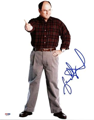 Jason Alexander autographed Seinfeld George Costanza 11x14 inch photo (PSA/DNA)