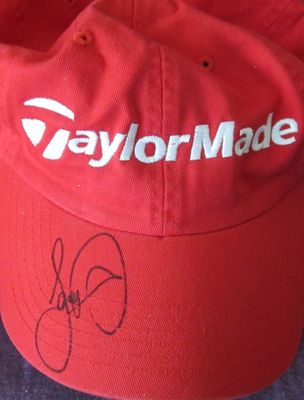 Jason Day autographed Taylor Made golf cap or hat