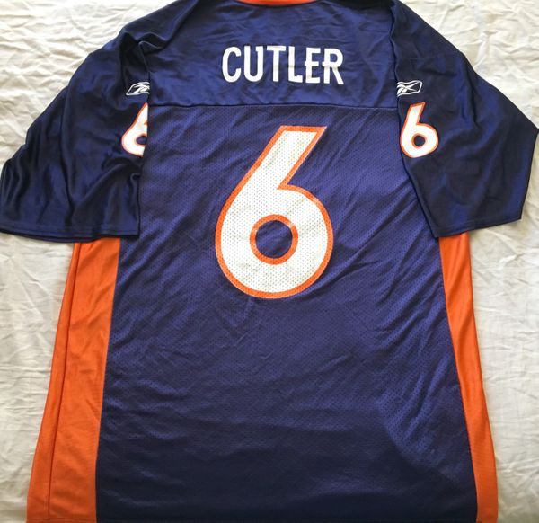 Jay Cutler Denver Broncos authentic Reebok replica jersey NEW